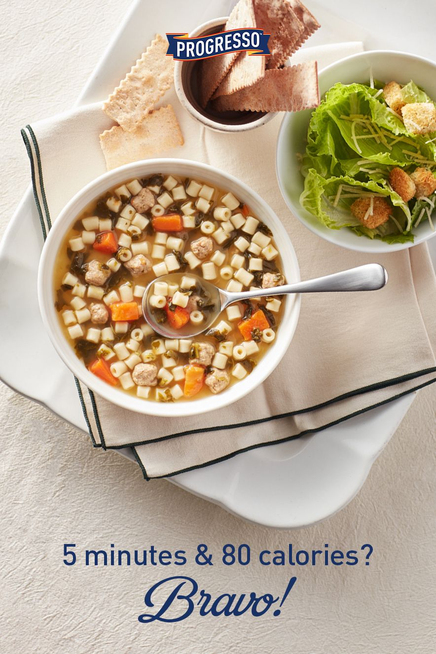 Italian Wedding Soup Bravo.Our Light Italian Wedding Soup Has Only 80 Calories Per Serving And