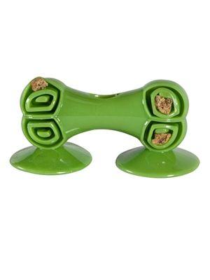 Chase N Chomp Stick It Sticky Bone Dog Toys Golden Puppies Bird Toys