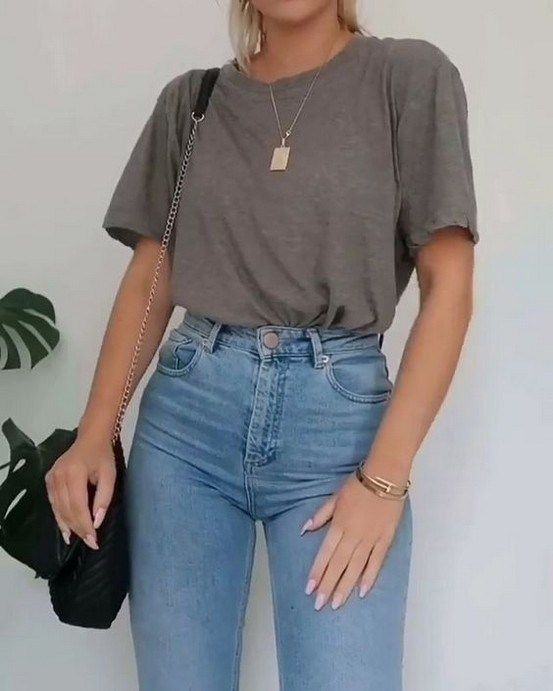 50 easy and cute summer outfits ideas for school 2019 00046 ~ Litledress #easyou... 1