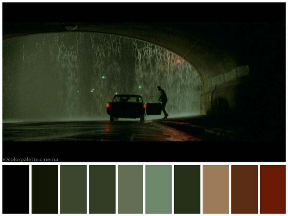 Paleta de cores de Matrix.
