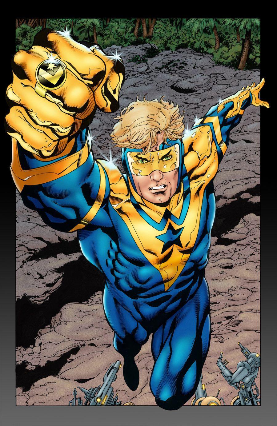 Booster Gold (Michael Jon Carter alias Supernova) (Human ...