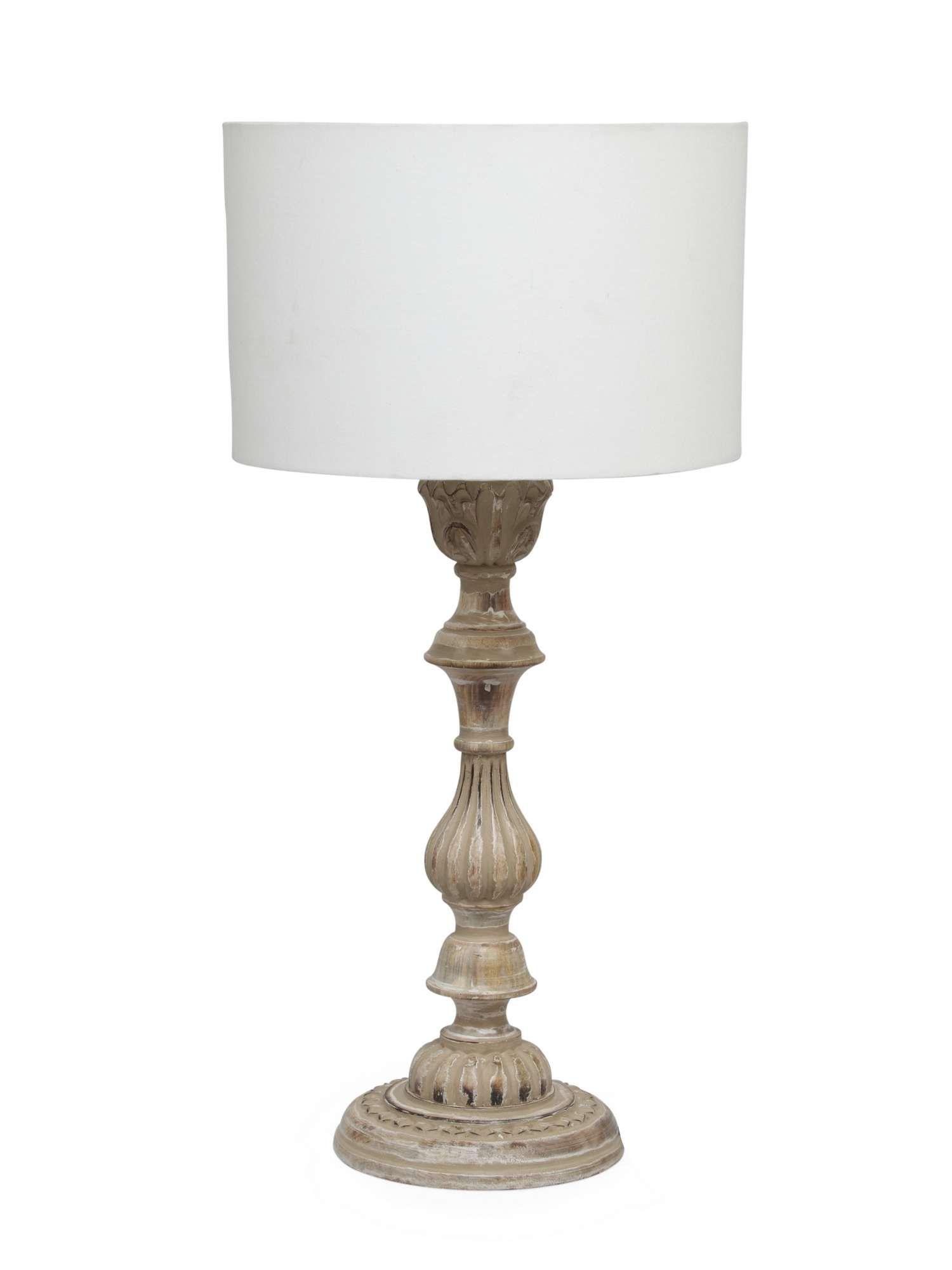 Junipa Maya Wood Table Lamp House Of Fraser