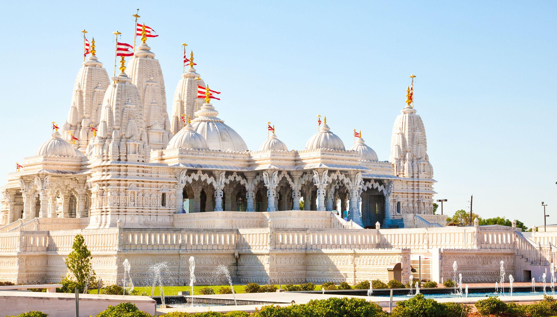 Baps shri swaminarayan mandir houston hindu temple