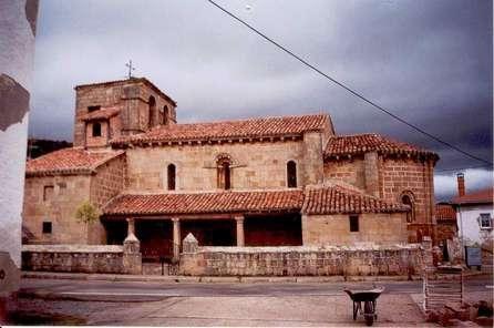 Cillamayor, Palencia. Iglesia de Santa María la mayor