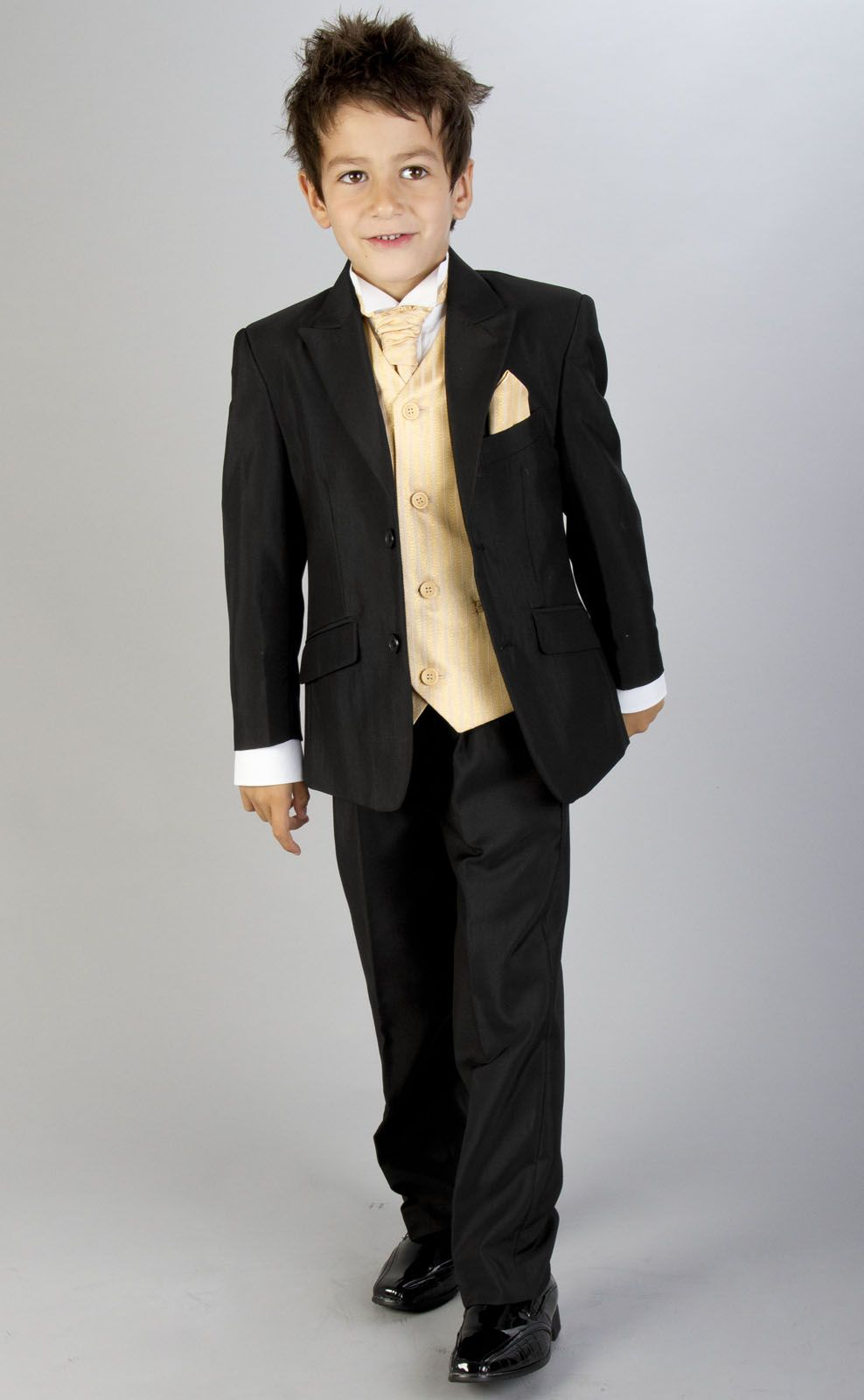Pageboy Outfits For Wedding Black Gold Prom Suit Age