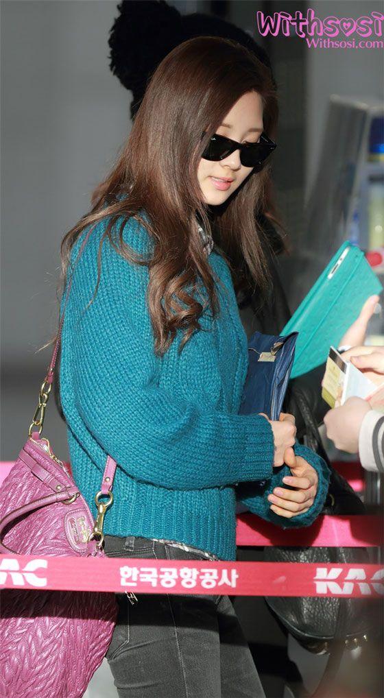 111222 Seohyun @ Gimpo Airport | Snsd airport fashion ...