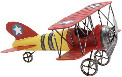 "UMA Inc Mtl Airplane 12""W, 6""H - Peazz Furniture"
