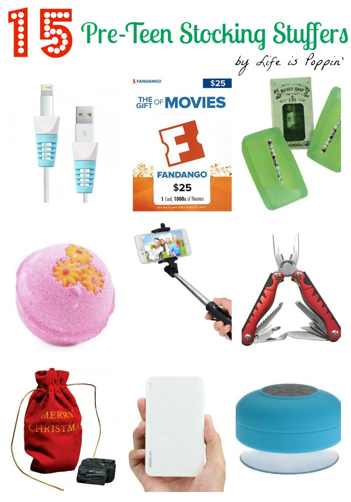 15 Stocking Stuffers Under $15 for Pre-Teens  http://lifeispoppin.com