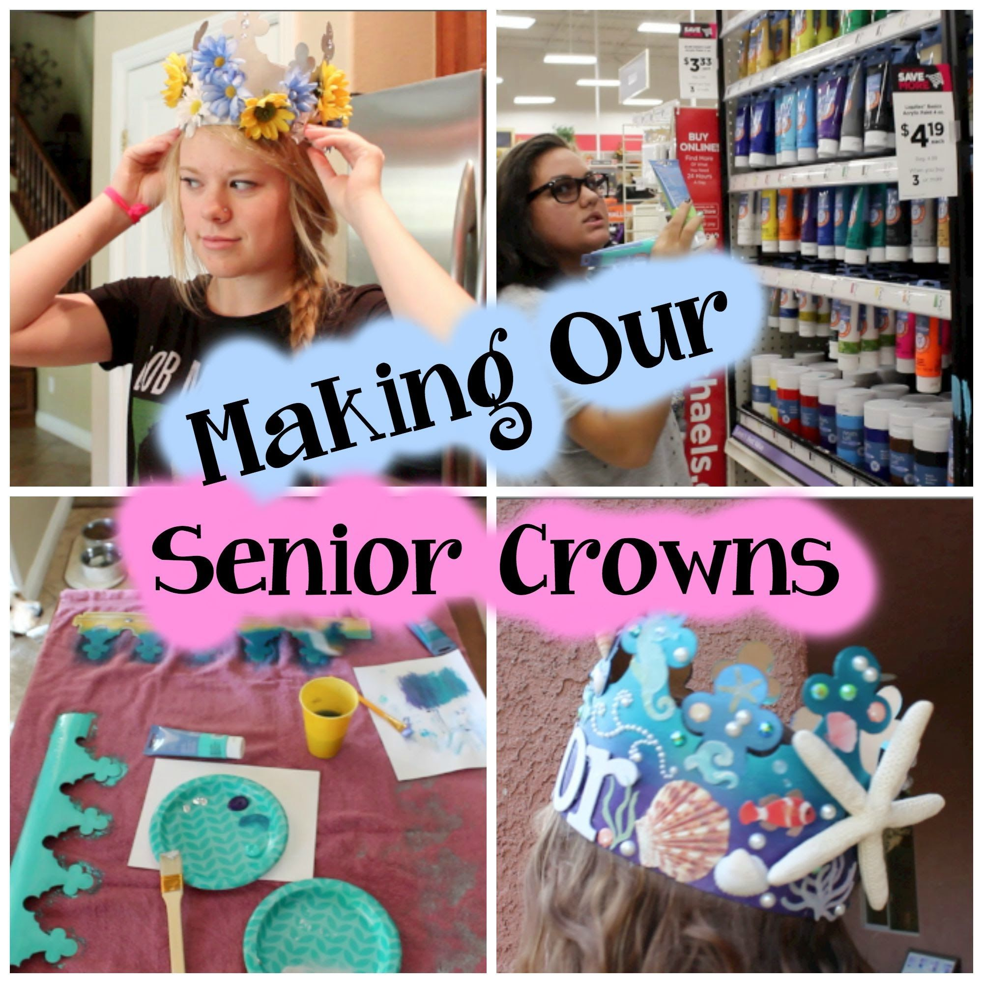 Crafts For Seniors, Senior Crowns
