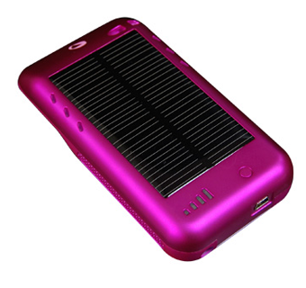 Charge Your iPod Touch With the Sun Using This Case