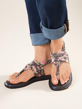 61145e6212d8 Women s Sanuk Yoga Sling Print Sandals