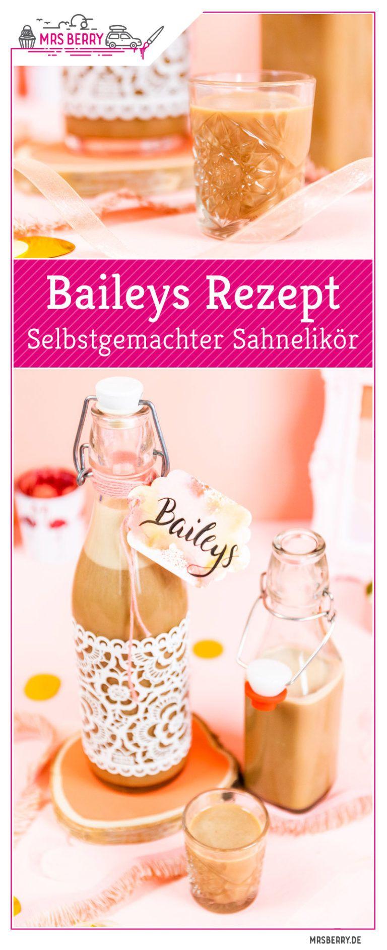 Photo of Make Baileys yourself – creamy cream liqueur with rum   MrsBerry.de