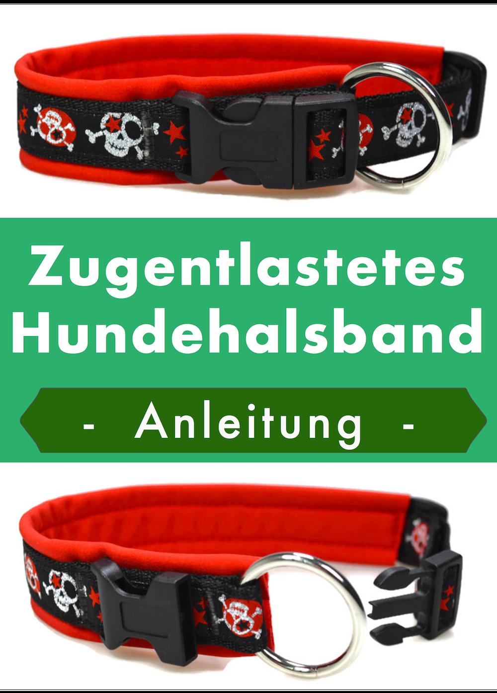 Anleitung für ein Halsband mit Zugentlastung | Diy anleitungen ...