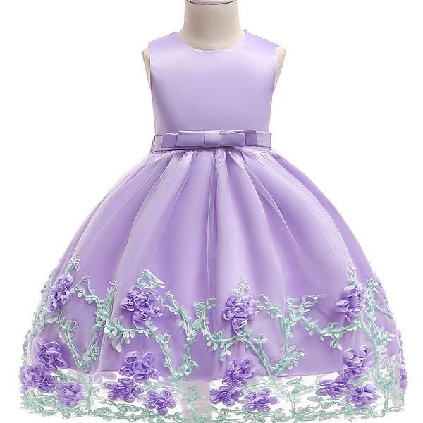 39592aca05b0 2018 Baby Girls Infant Embroidery Dress kids Gold Wedding Toddler High-end  Dress Flower Vestidos