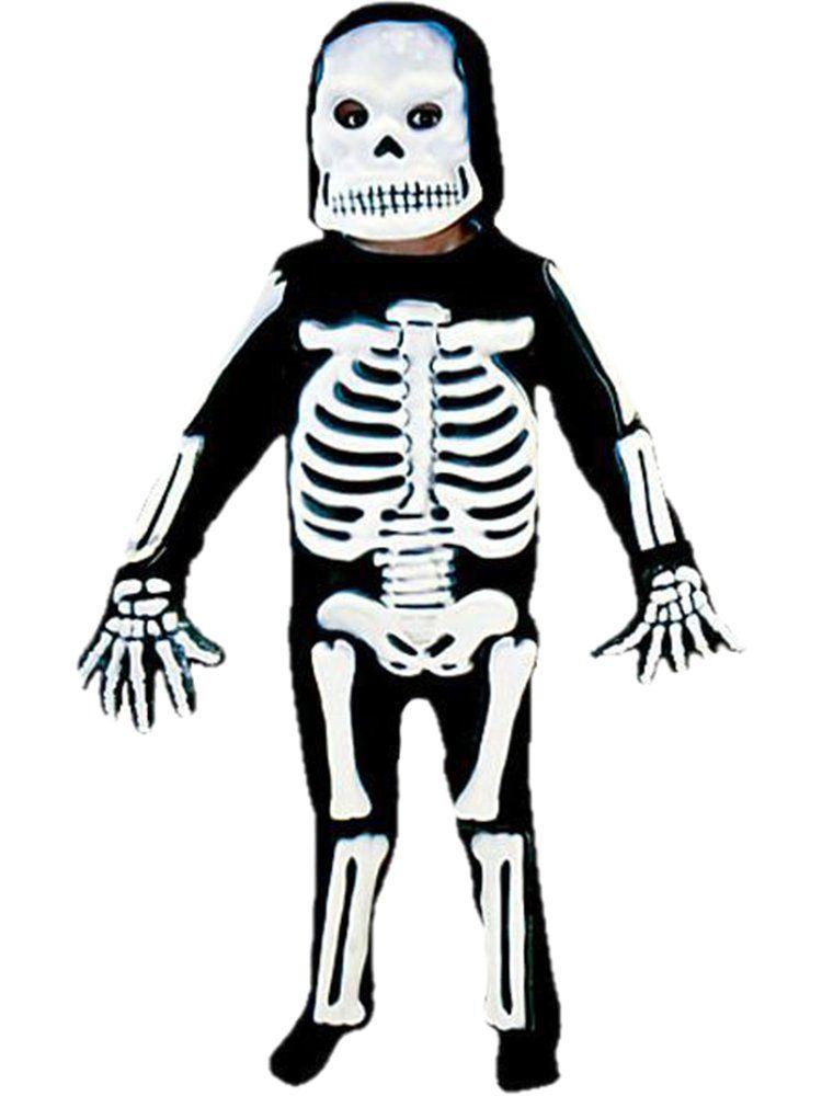 Deluxe T-Rex Skeleton Boys Fancy Dress Costume