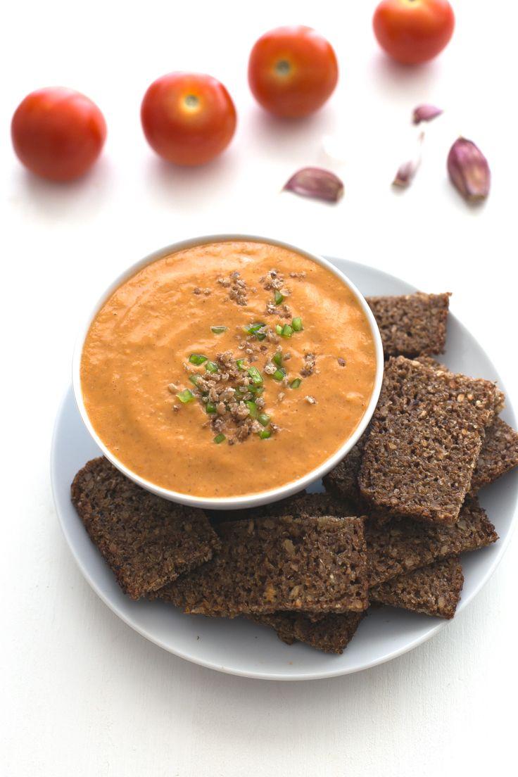 Porra Antequerana (Spanish Cold Tomato Soup)