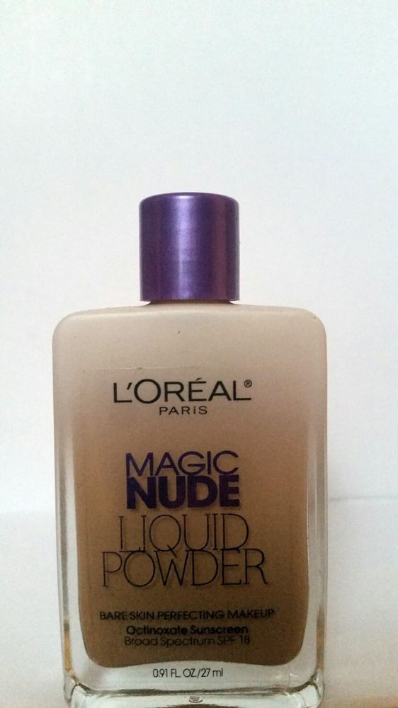 LOreal Paris Magic Nude Liquid Powder Bare Skin Makeup BUFF BEIGE #332 Lot Of 2 71249252918 | eBay