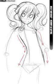 Dibujar Anime Paso A Paso Para Principiantes Buscar Con Google Drawing Tutorial Anime Drawings Drawings