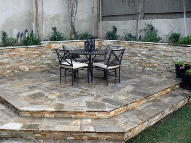 images about patio on, elevated stone patio ideas, raised paver patio ideas, raised stone patio ideas