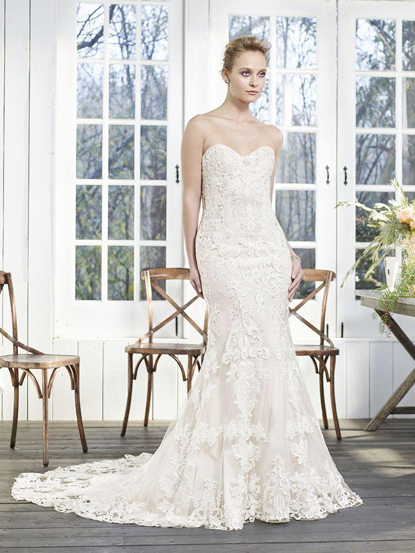 Casablanca Bridal Style 2255 Laurel. Laurel, with its