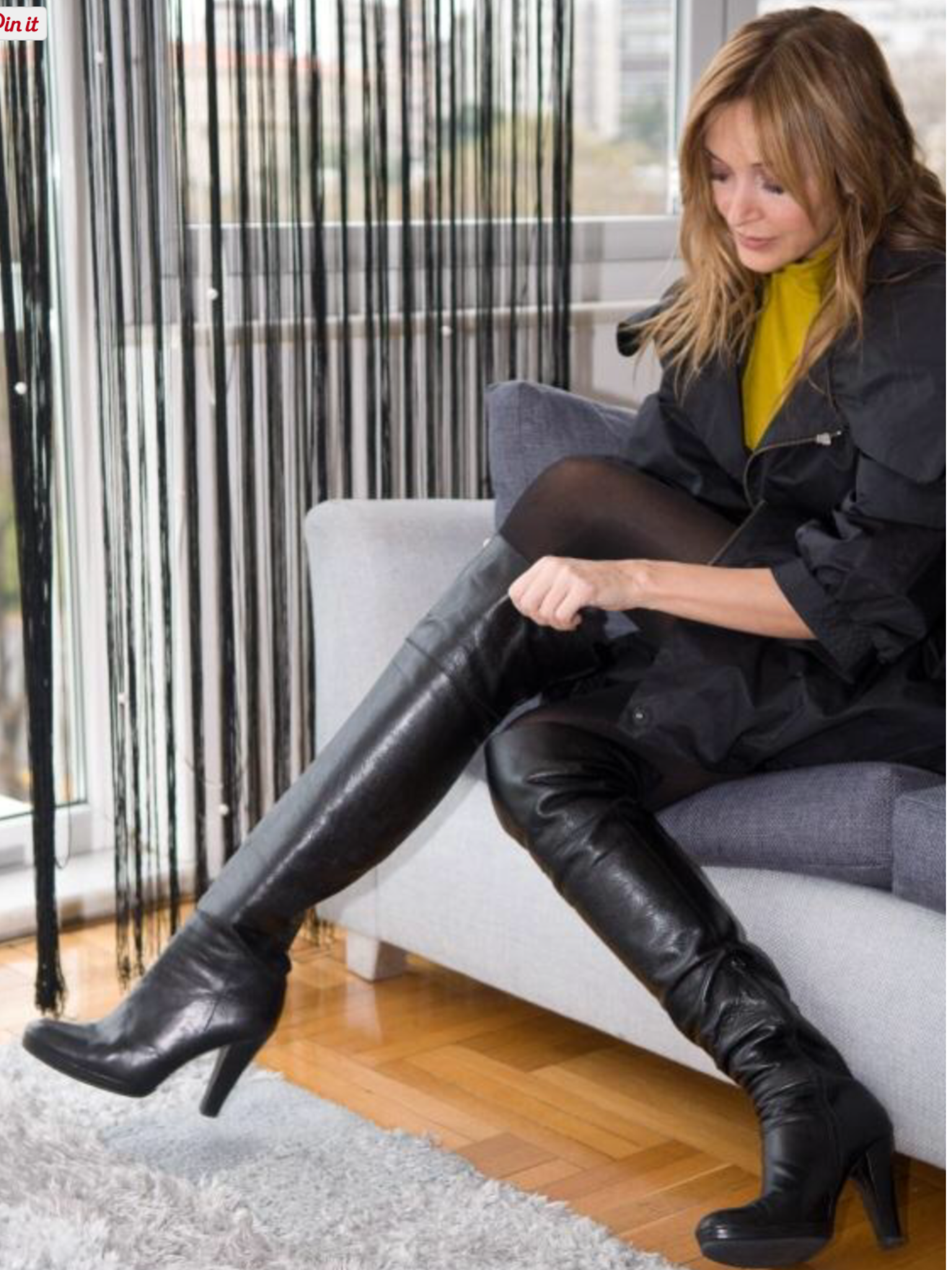 2bfa31b525a01 highheelbootsthigh | Ladies in boots | Kniehohe stiefel, Hochhackige ...