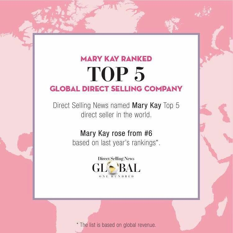 Surprise Surprise We Are Top Five And Note Today With 3 5 Million Independent Beauty Consulta Mary Kay Mary Kay Marketing Mary Kay Cosmetics
