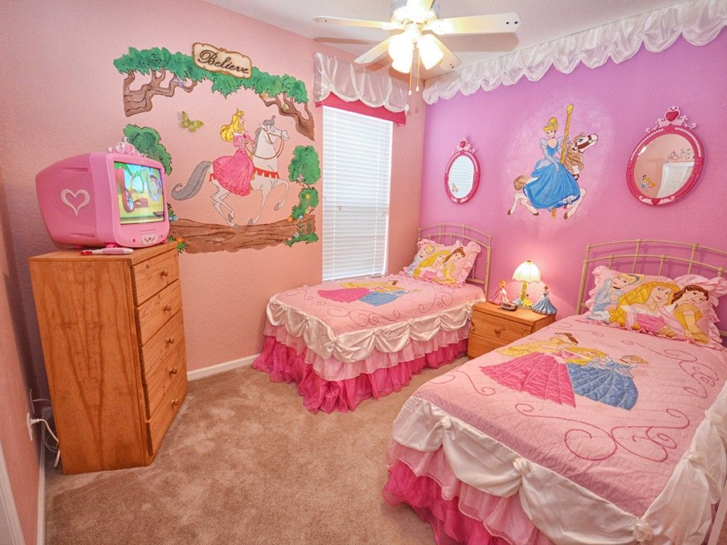 disney princess twin roomkids cornerpinterestdisney - Disney Bedroom Designs