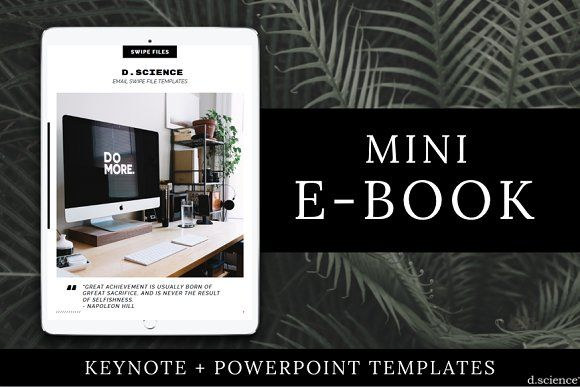 Mini ebook template | collab. no.4 | Template and Magazine layouts