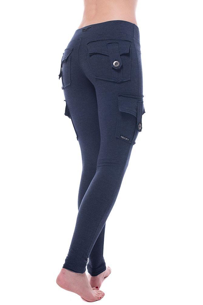 fe682a2c4b38b Nightfall Bamboo Rayon, Fall Leggings, Synthetic Fabric, Grey And White,  Buy Bamboo