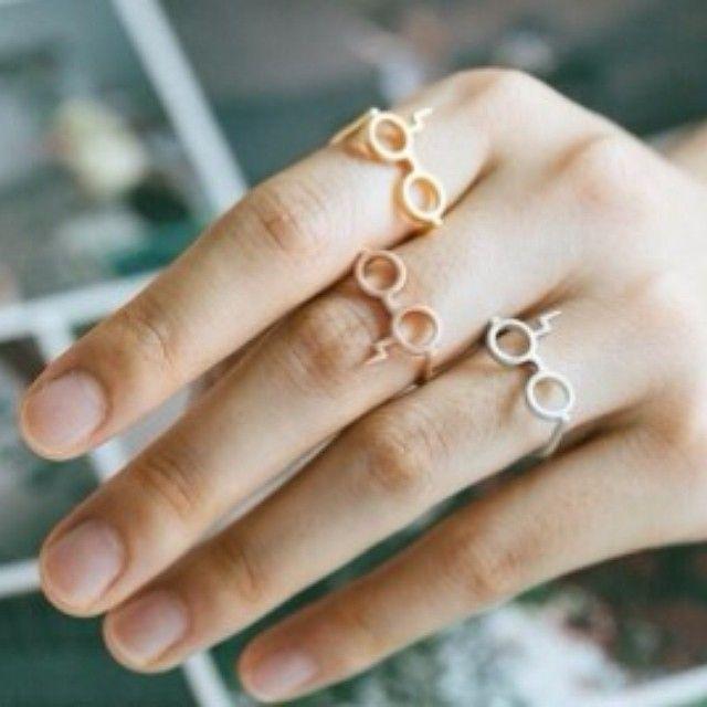 #harrypotterring#ring#harrypotter#glassesring#harrypotterglassesring#harrypotter My Harry potter glasses ring