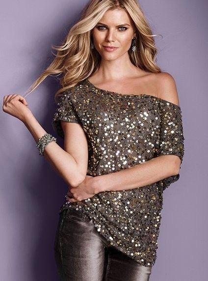 comprar online Precio reducido 100% de satisfacción holiday glitter - I really like this top! | outfit :D ...