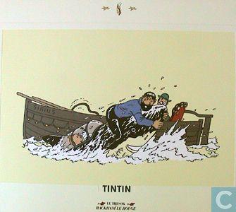 Affiche / poster - Bandes dessinées - Rackham Le Rouge (karton)