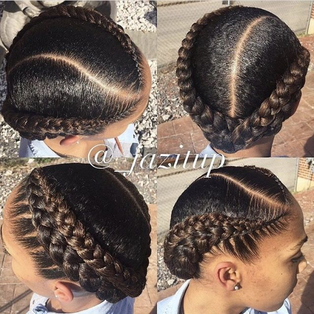 New Photo Added To Hair Natural Hair Styles Hair Styles Braid Styles