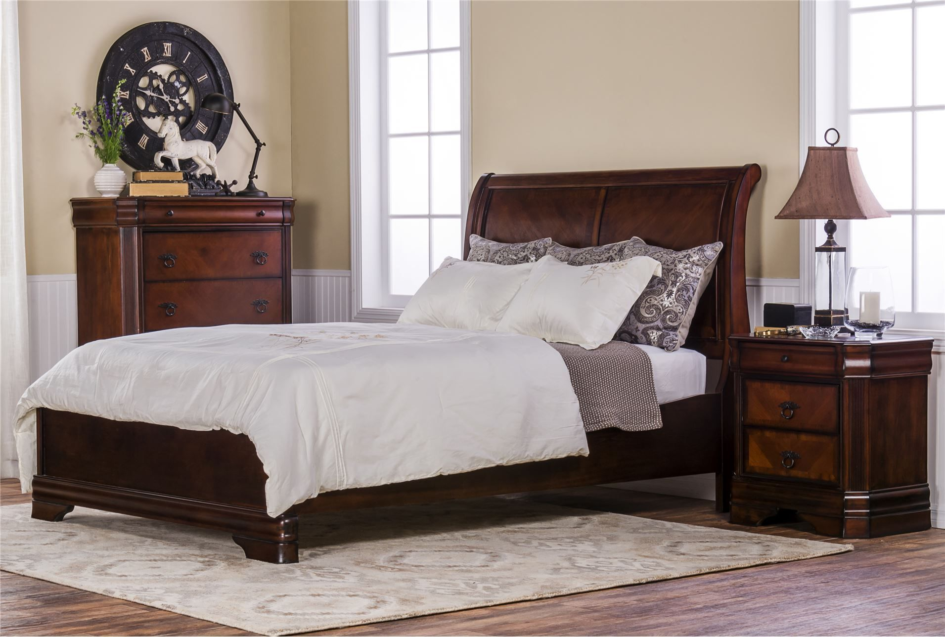 Preston Eastern King Panel Bed | Living Spaces Dimensions: 80"|1911|1288|?|en|2|d69e0680bca179506415aa3e388f3a3c|False|UNLIKELY|0.3246488571166992