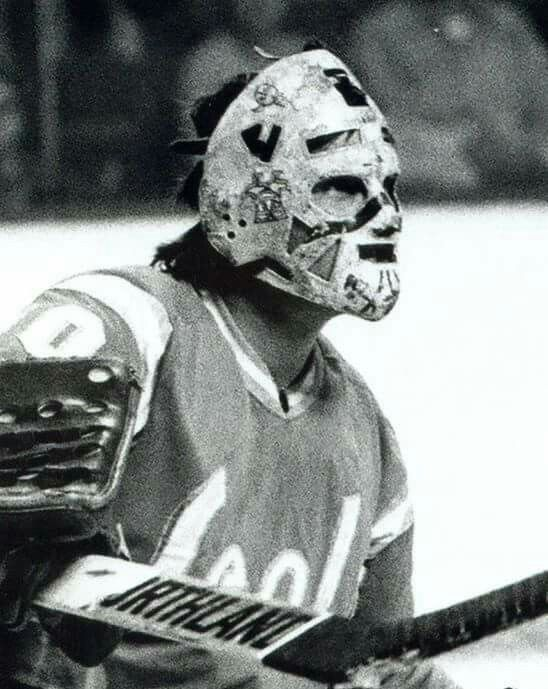 Gary Simmons Goalie Mask Goalie Hockey Mask