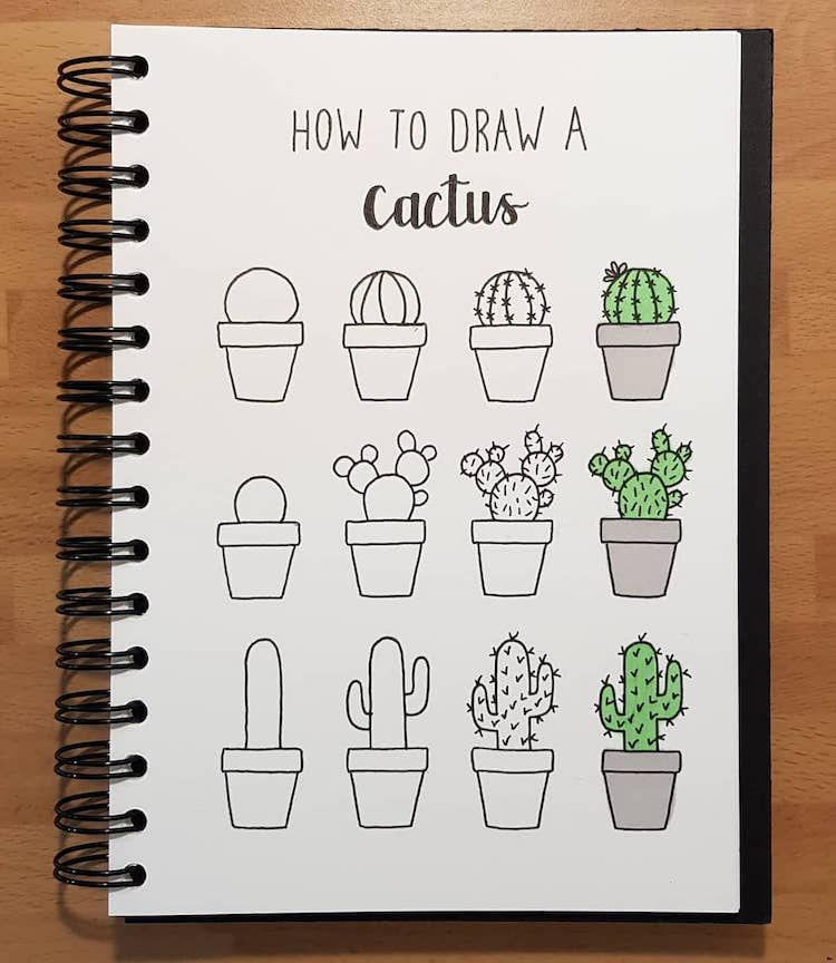 Step-by-Step Doodle Tutorials Make Complex Subjects Easy to Draw