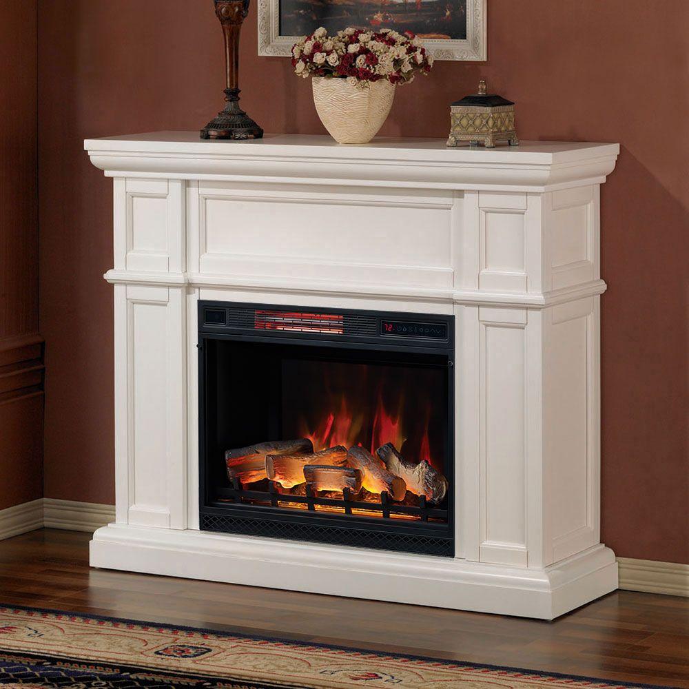 Schon Innenkamine · Feuerstellen Aus Stein · Eckkamin Fernsehständer · Artesian  Infrared Electric Fireplace Mantel Package In