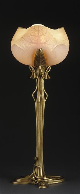 Lampe Art Deco, Art Deco Lampe