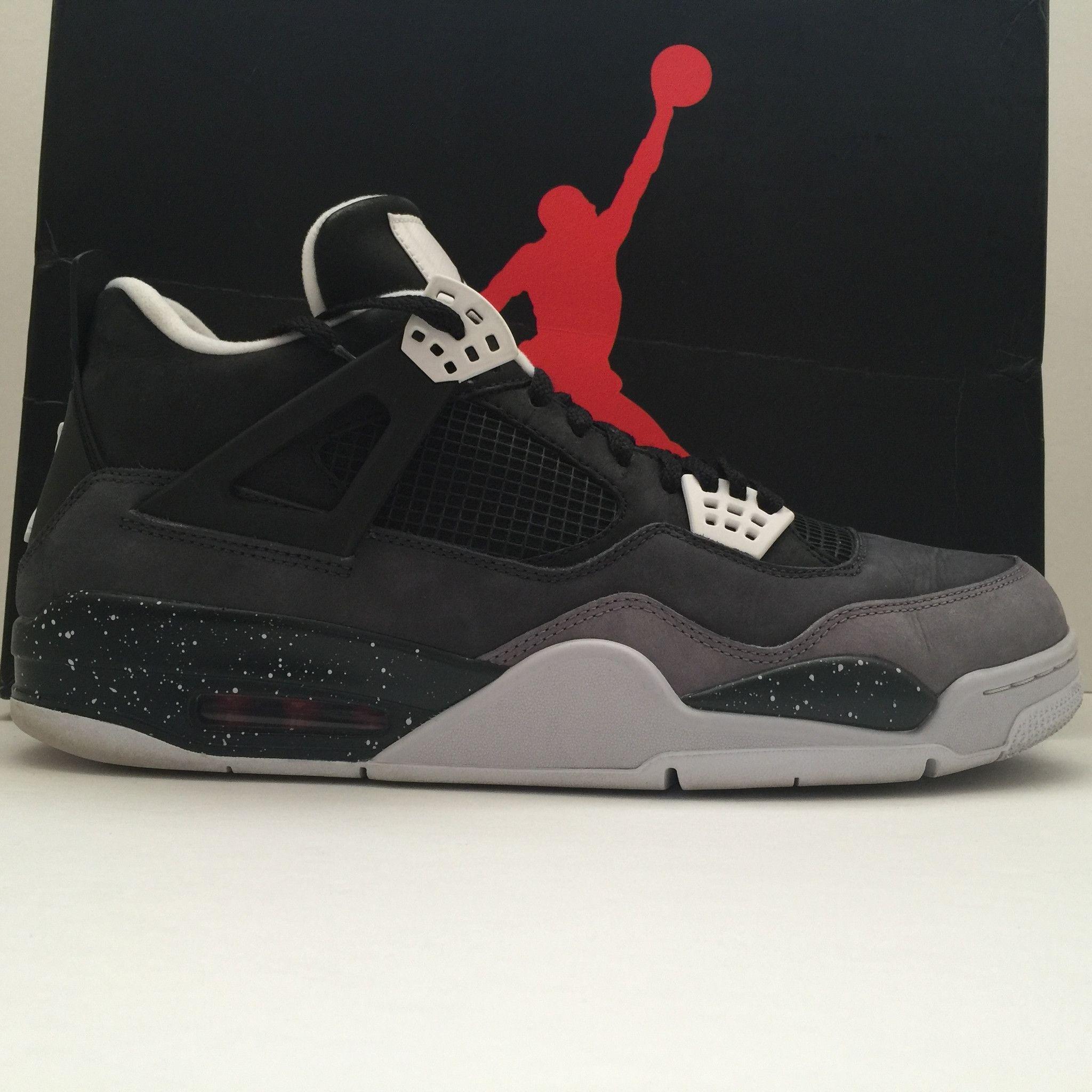 buy popular d456f 5b0dc Nike Air Jordan 4 IV Retro Fear Size 13