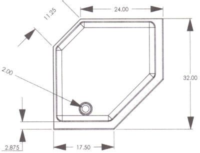 32 Inch Corner Shower Stall. Corner shower stalls R  G Mobile Home Supply 32 RV Shower Pans dimensions