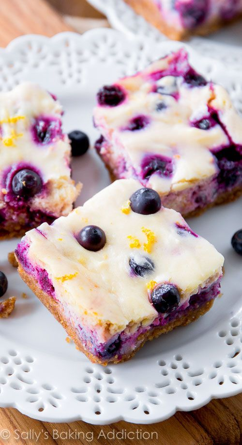 A simple, quick recipe for lemon blueberry cheesecake bars. Your whole family will love them! #lemonblueberrycheesecake A simple, quick recipe for lemon blueberry cheesecake bars. Your whole family will love them! #lemonblueberrycheesecake