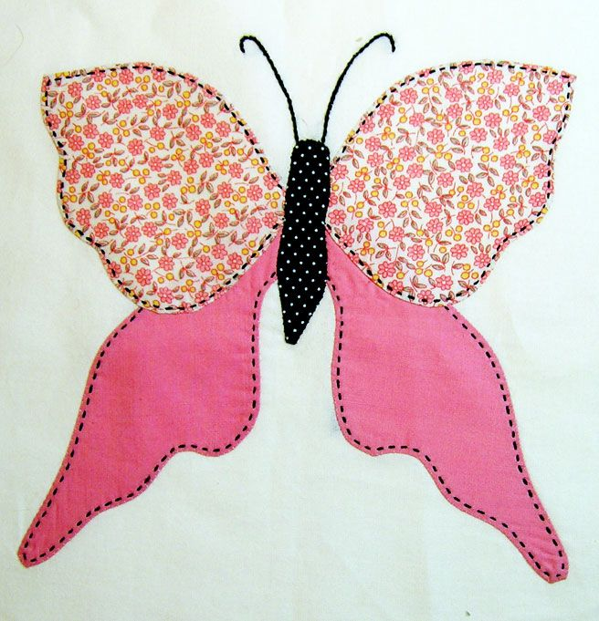 Butterfly Quilts Applique Butterfly Garden Free Quilt