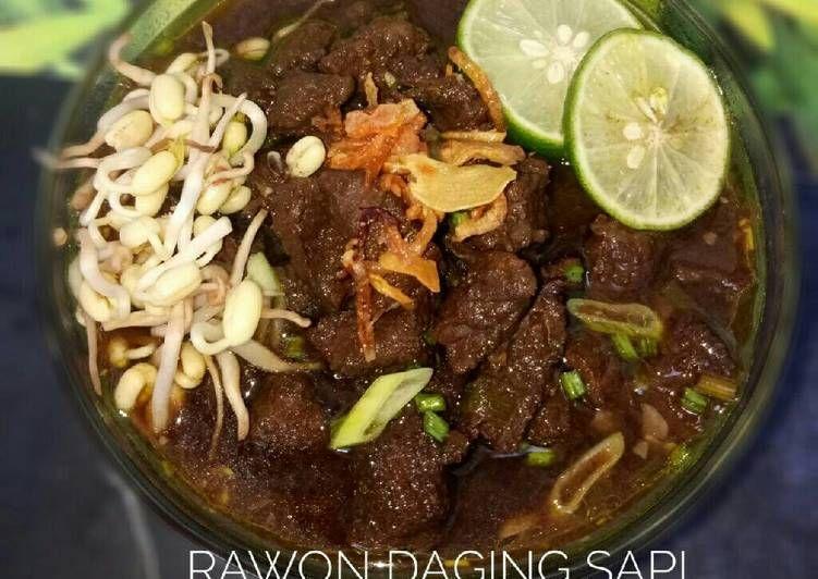 Rawon Daging Sapi Ii Dandelion Resep Resep Resep Masakan Indonesia Daging Sapi