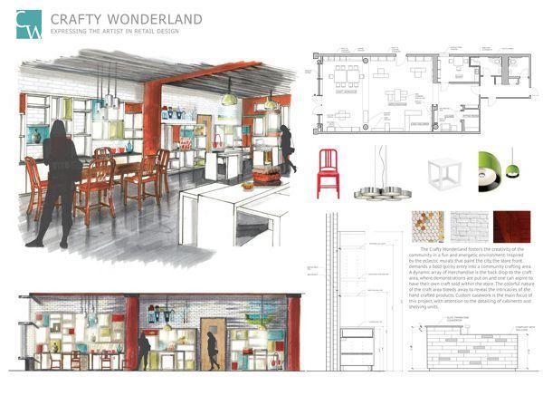 Risultati immagini per architecture retail portfolio - resume for interior designer