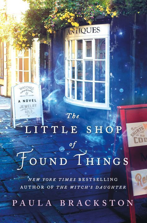 The Little Shop of Found Things   Paula Brackston   Macmillan is part of Books - New York Times bestselling author of The Witch's Daughter Paula Brackston returns to her trademark blend of magic and romance guaranteed to enchant in The Li