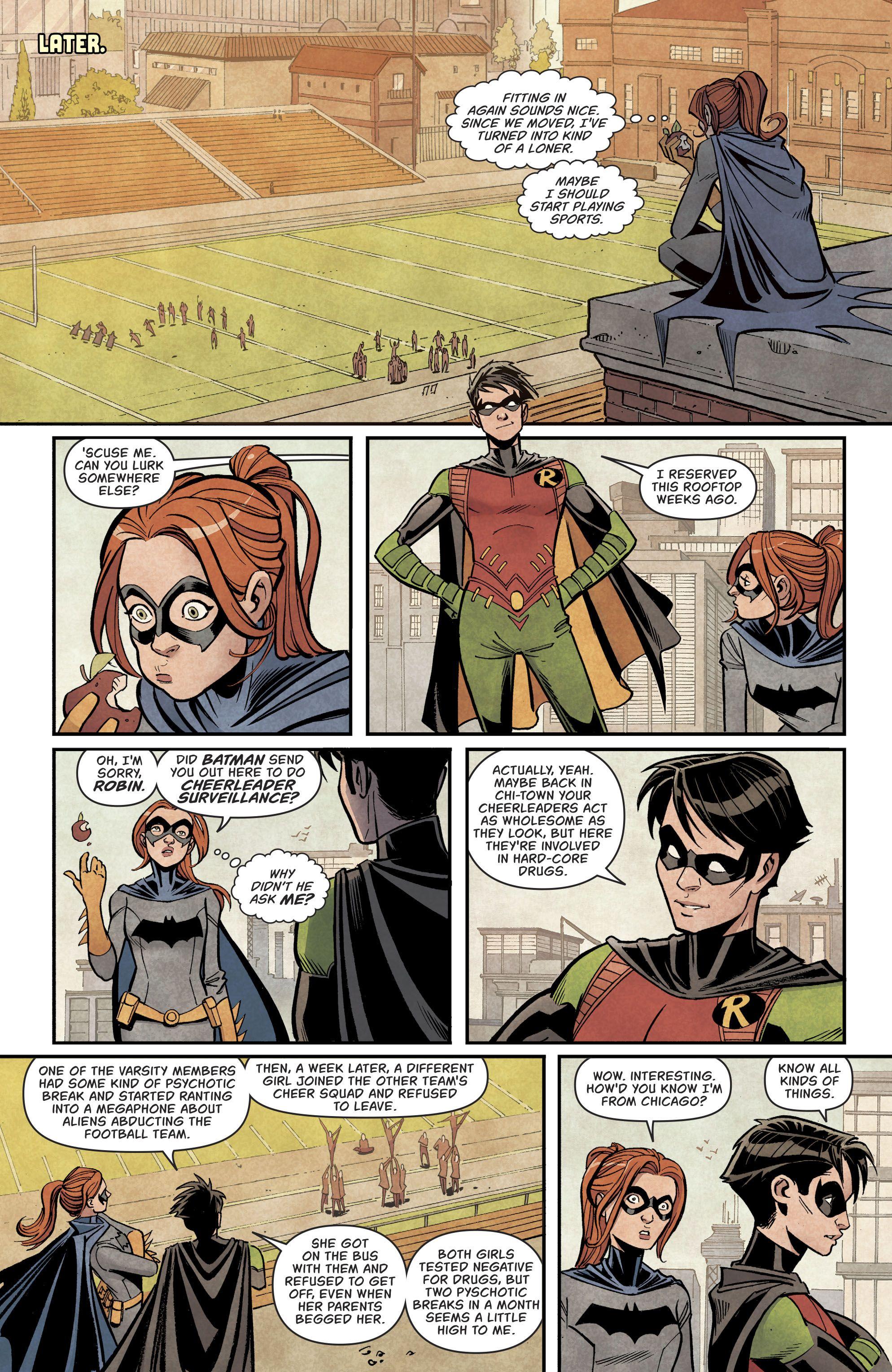 Batgirl og Robin Start Dating dating farmasøyt