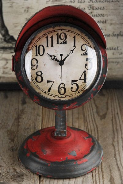 Retro Table Clock, $22 (Love The Face On This One   Great Numbers) Love  This, But They Were Out Of Stock!