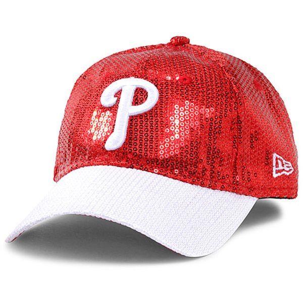 quality design 71149 7e9ab  Pink  Philadelphia Phillies Sequin Adjustable Hat