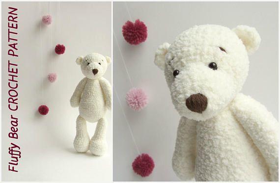 Easy Amigurumi Bear Pattern : Crochet bear pattern crochet toy pattern amigurumi bear pdf cute
