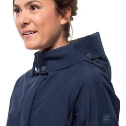 Photo of Jack Wolfskin Hardshell Jacket Women Monterey Coat Women Xxl Blue Jack WolfskinJack Wolfskin